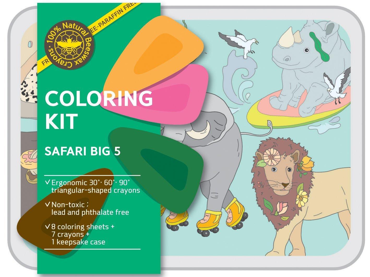 Coloring Kit Set - SAFARI set