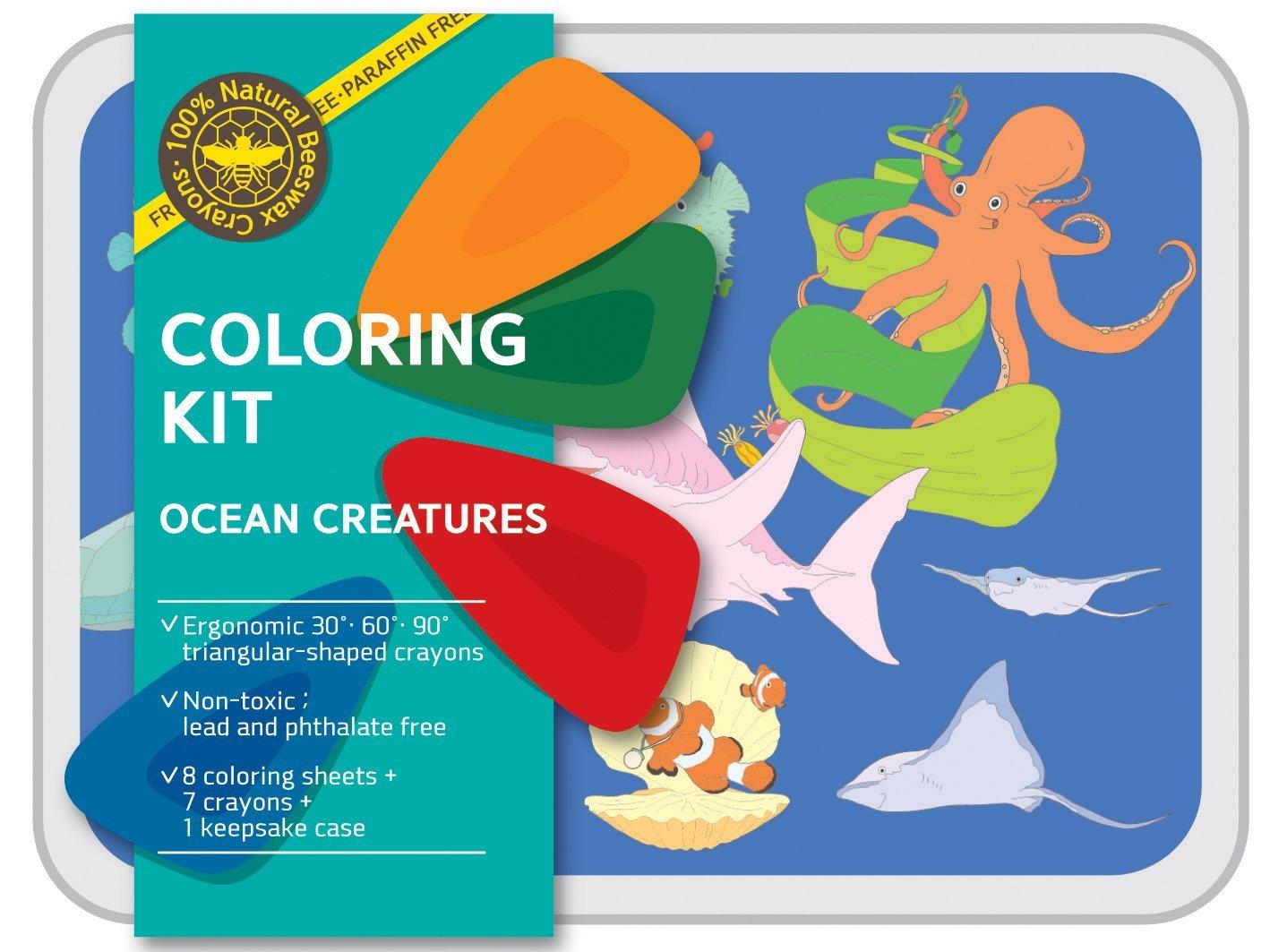 Coloring Kit Set - Ocean Set