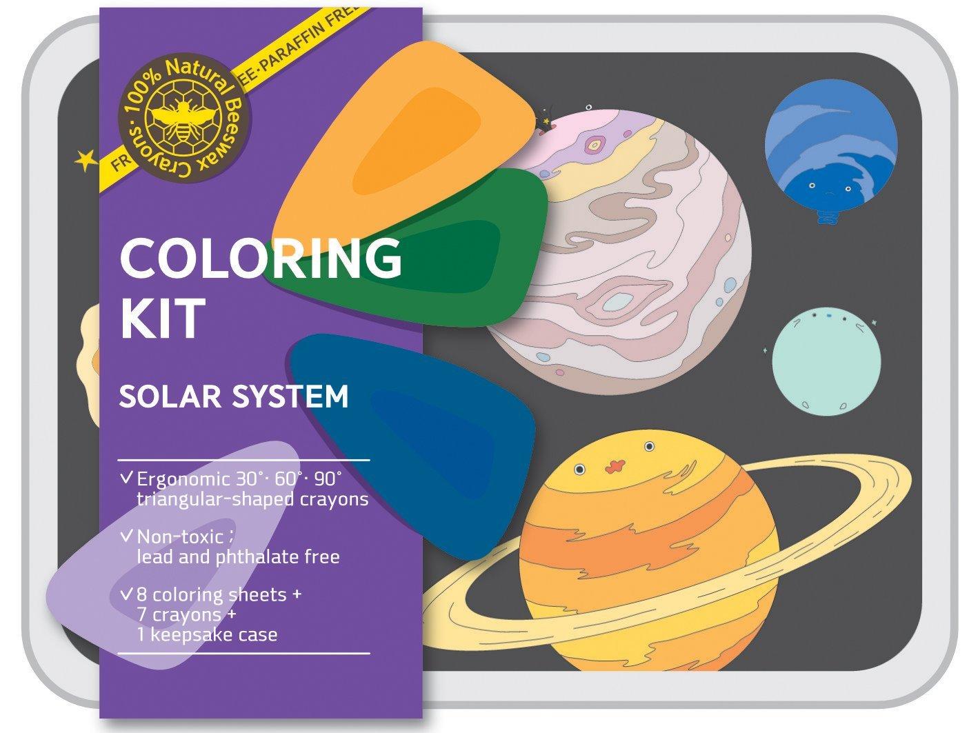Coloring Kit Set - Solar System Set