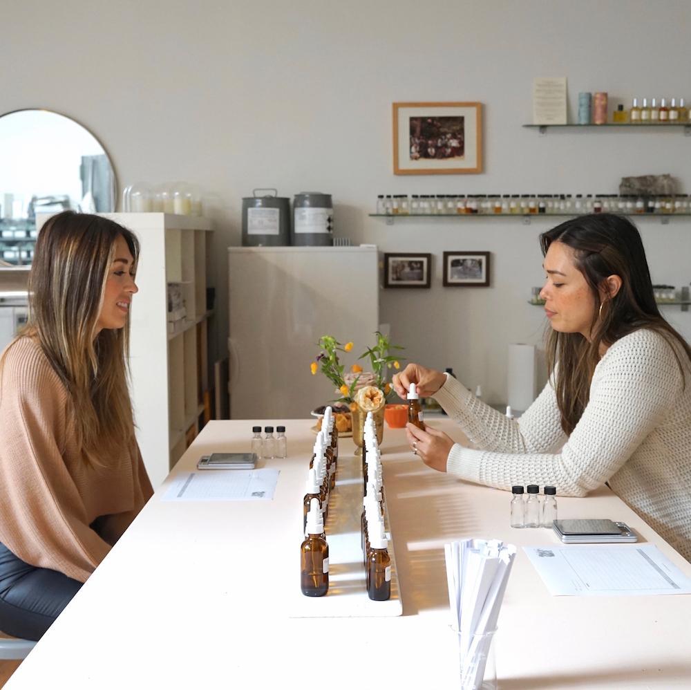 Katie McClain and Anne Serrano-McClain