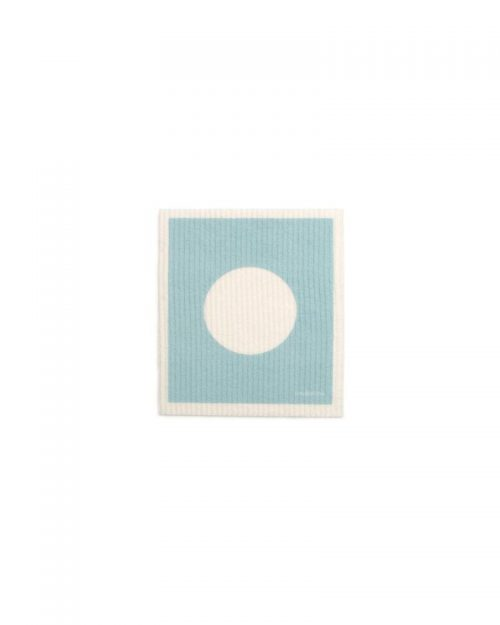 Swedish Dish Towel VERA Pale Turquoise