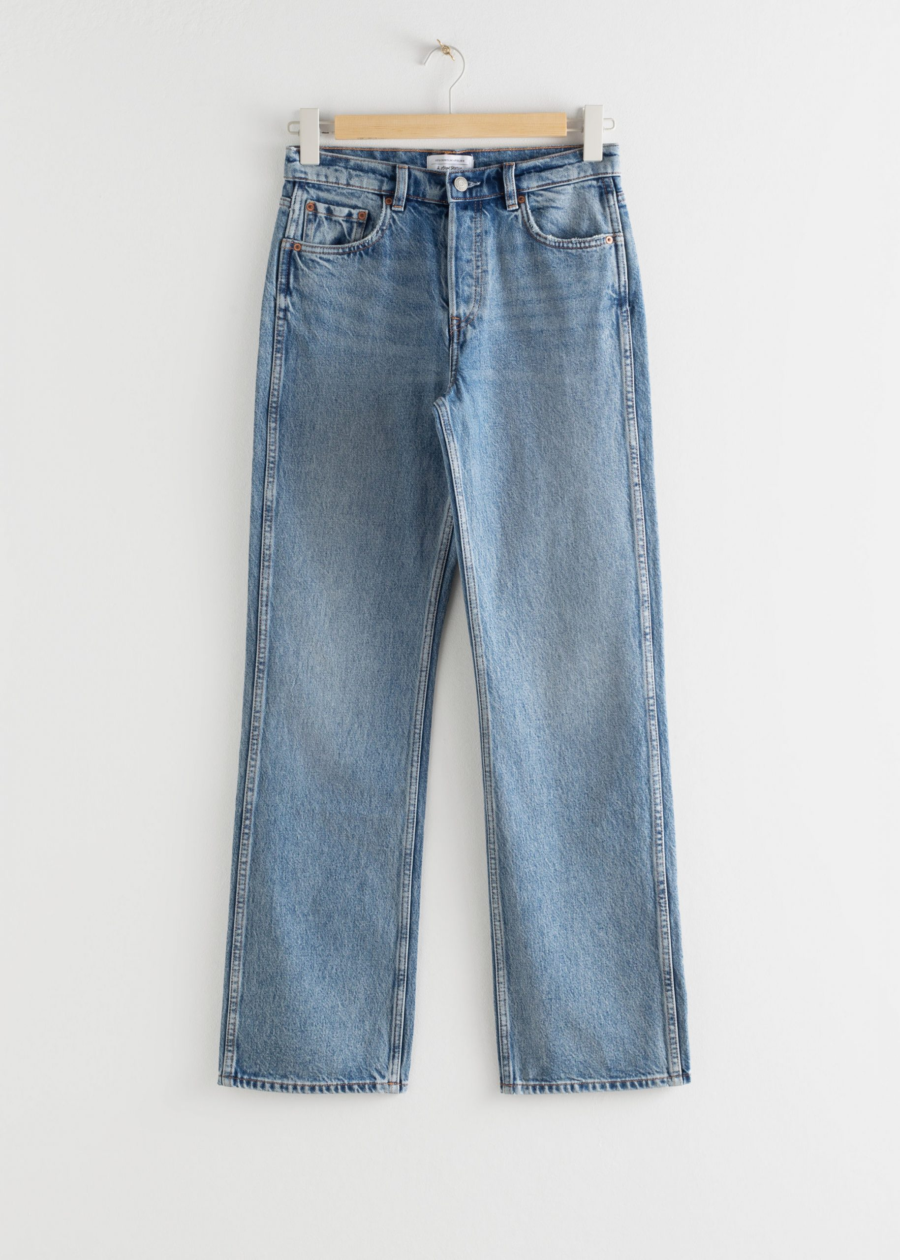 & Other Stories Straight Mid Rise Jeans